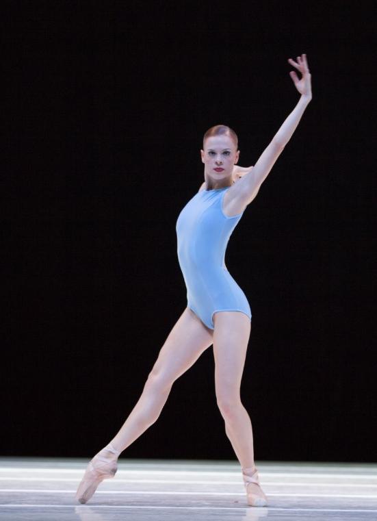 "Emma Love Suddarth in ""A Million Kisses to My Skin."" Photo by Angela Sterling; choreography by David Dawson."