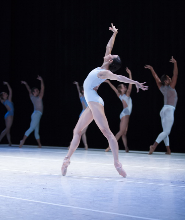 """Lindsi Dec in """"A Million Kisses to My Skin."""" Photo by Angela Sterling; choreography by David Dawson."""