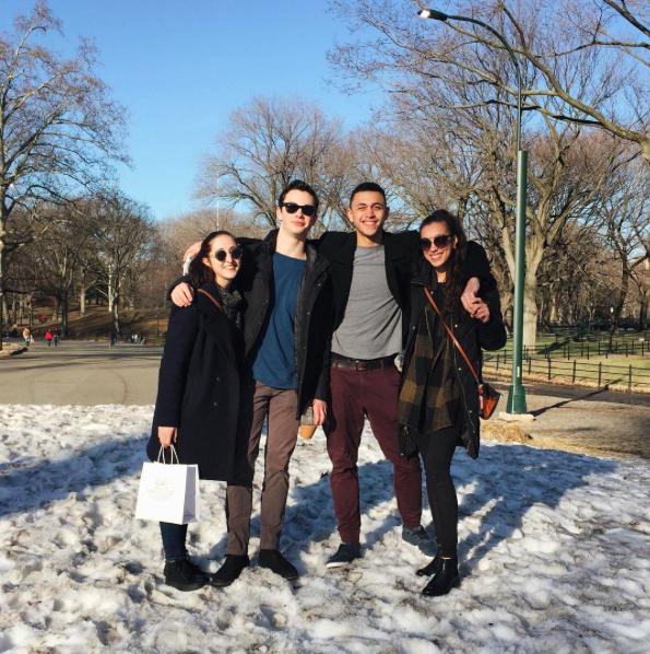 Nicole Rizzitano, Henry Cotton, Dammiel Cruz and Angeli Mamon. Photo from @henry.cotton.