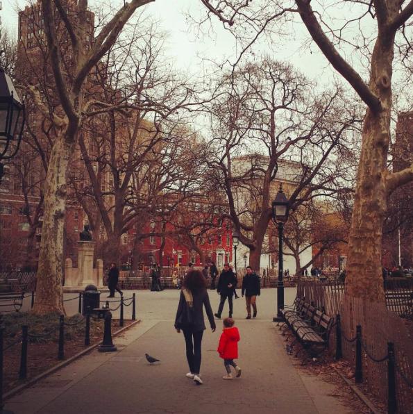 Sarah Orza and Lola. Photo by Seth Orza @sethorza.