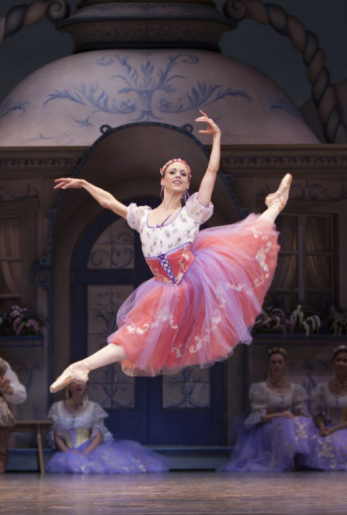 "Lesley Rausch as Swanhilda in George Balanchine's ""Coppélia."" Photo by Angela Sterling."