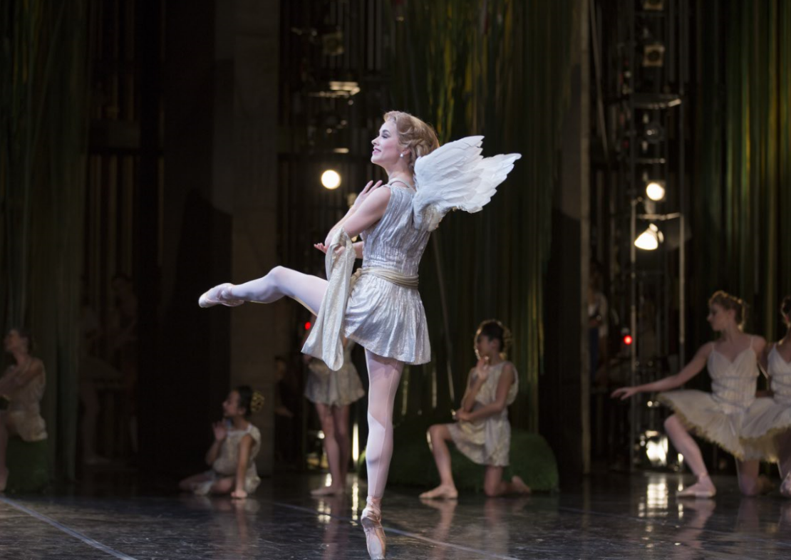 """Carli Samuelson as Cupid in """"Don Quixote."""" Photo by Angela Sterling; choreography by Alexei Ratmansky."""