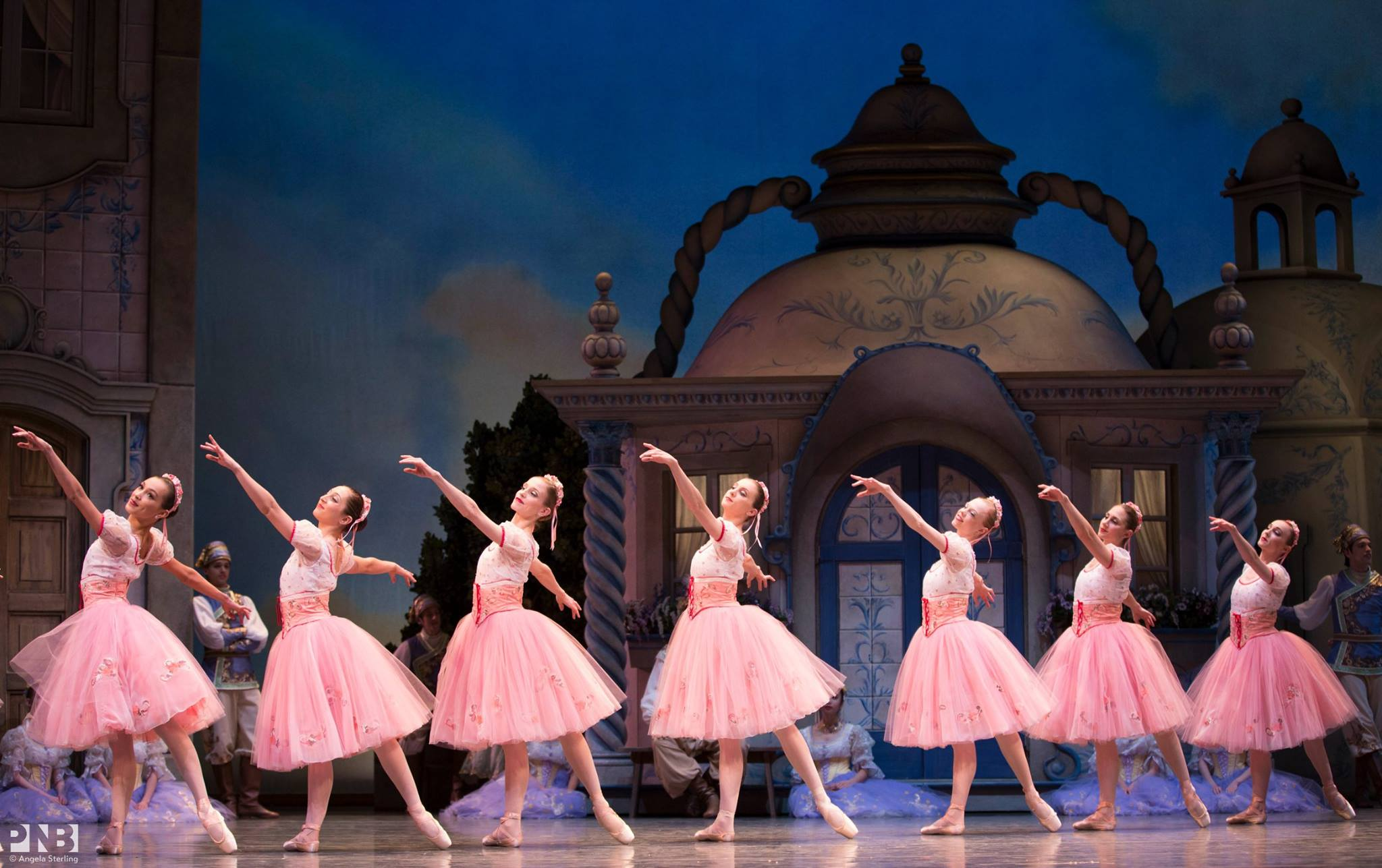PND Dancers in George Balanchine's Coppélia. Photo by Angela Sterling.