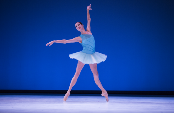 Maria Chapman in Kiyon Gaines' Sum Stravinsky. Photo by Angela Sterling.