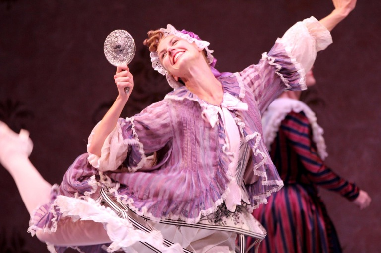 Jessika Anspach in Kent Stowell's Cinderella. (c) Angela Sterling.