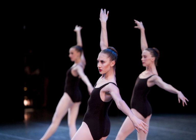 Jessika Anspach in George Balanchine's The Four Temperaments. (c) Angela Sterling.