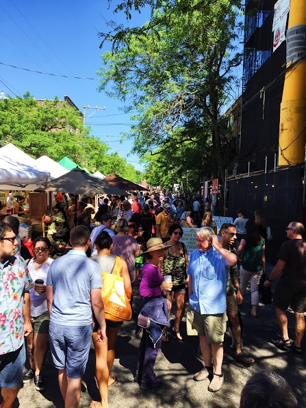 Ballard Farmer's Market. Photo by Emma Love Suddarth.