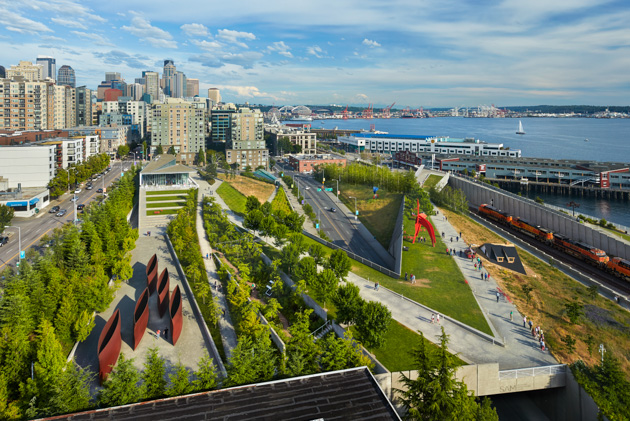 Seattle Art Museum Olympic Sculpture Park. (c) SAM