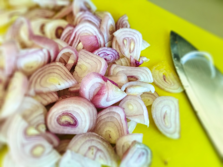 Shallots. Photo by Emma Love Suddarth.