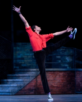 Cruz in West Side Story Suite ©Angela Sterling