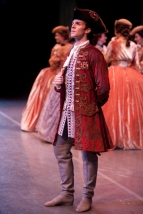 Lucien Postlewaite as Prince Florimund ©Angela Sterling