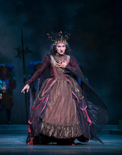 Jonathan Porrette as Carabosse ©Angela Sterling