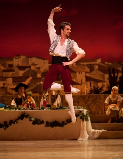 Basilio in Don Quixote ©Angela Sterling