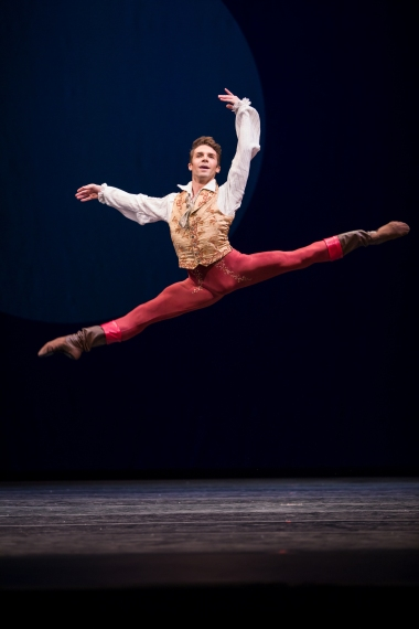 Postlewaite in Swan Lake Act I ©Lindsay Thomas